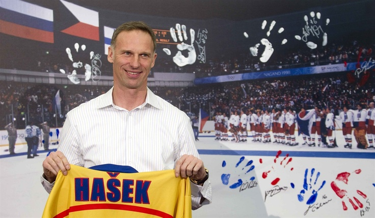 DOMINÁTOR. Dominik Hašek. Olympic champion in ice hockey in Nagano after 15 years