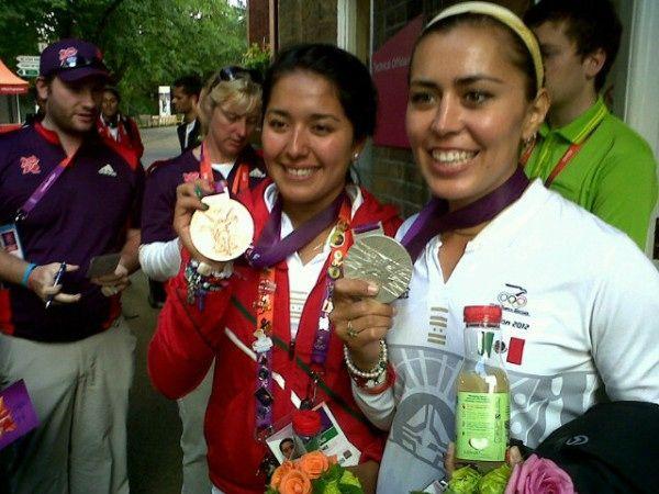 México en los Juegos Olímpicos Londres 2012  Participación de los atletas mexicanos en Londres Jueves 2 de Agosto 2012  Tiro con Arco Femenil Individual | Aida Román - Plata y Mariana Avitia - Bronce