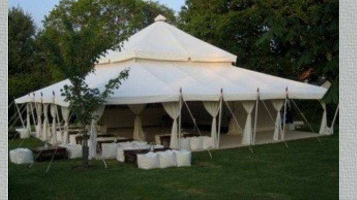 Used 40x40 foot event tent for sale $6000