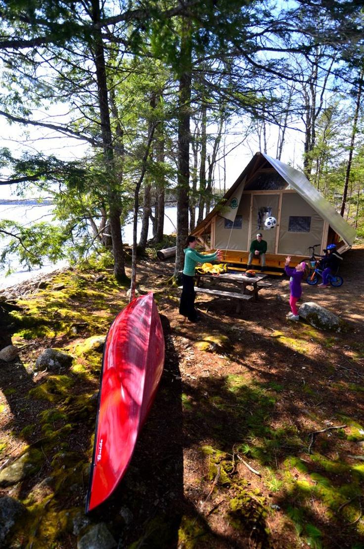 Saskatchewan: Komfort-Camping oTENTik im Prince Albert National Park Foto: Parcs Canada http://www.reisegezwitscher.de/reisetipps-footer/1852-saskatchewan