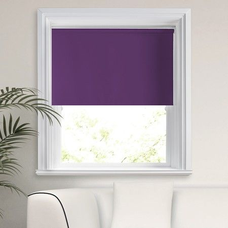 Cheapest Blinds UK | Purple Blackout Roller Blind