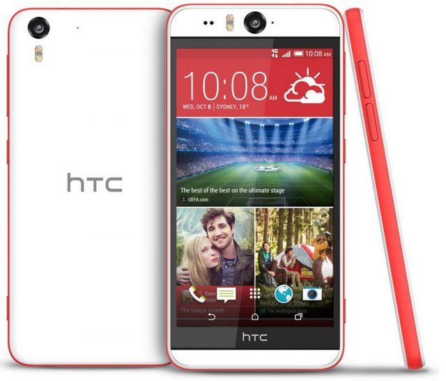 HTC Desire Eye shows up on JB HiFi website in Coral Red for $799 - The ultimate 'Selfie' phone from HTC, the Desire Eye, looks set to launch imminently, with the phone now showing as available for purchase on the JB Hifi website. [READ MORE HERE]