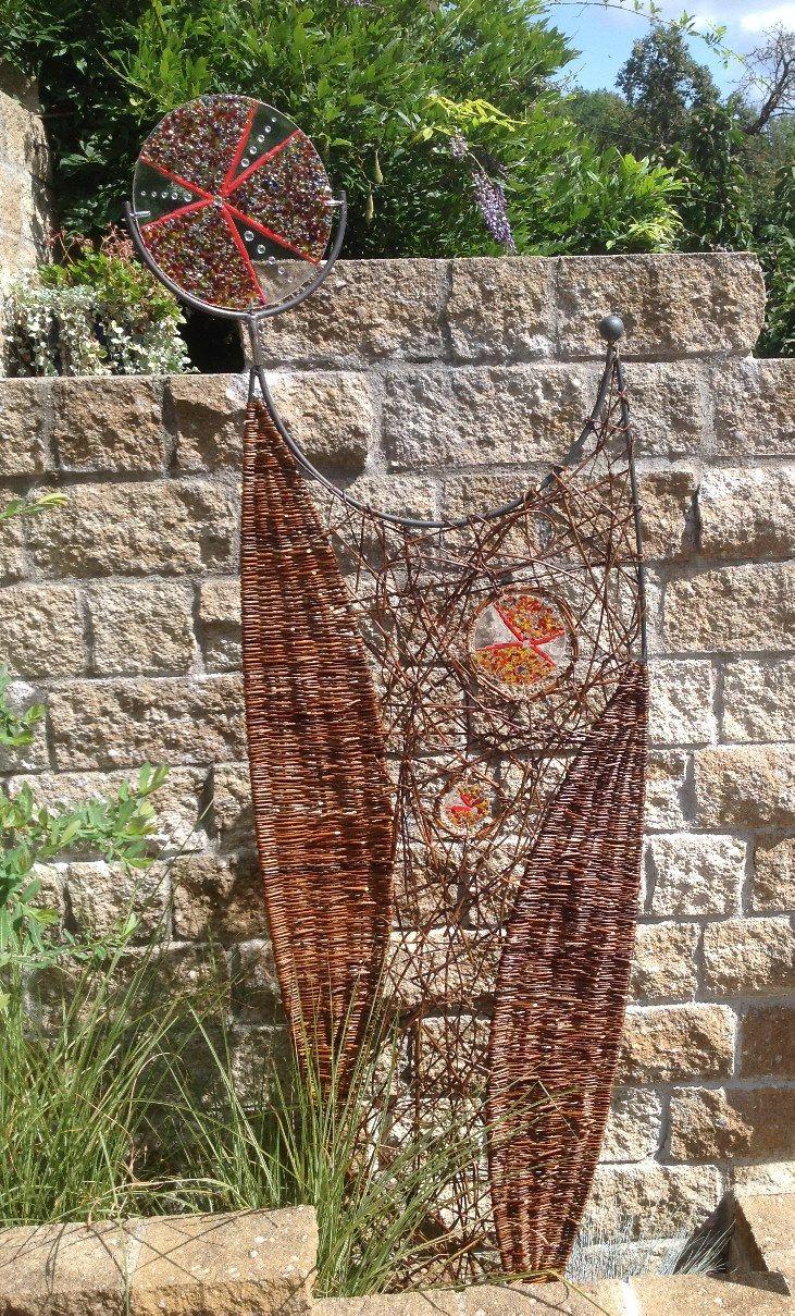 Weidenflecht Kurs und Glas Weidengeflecht Seminare Flechtkurse und Gartengestalt…