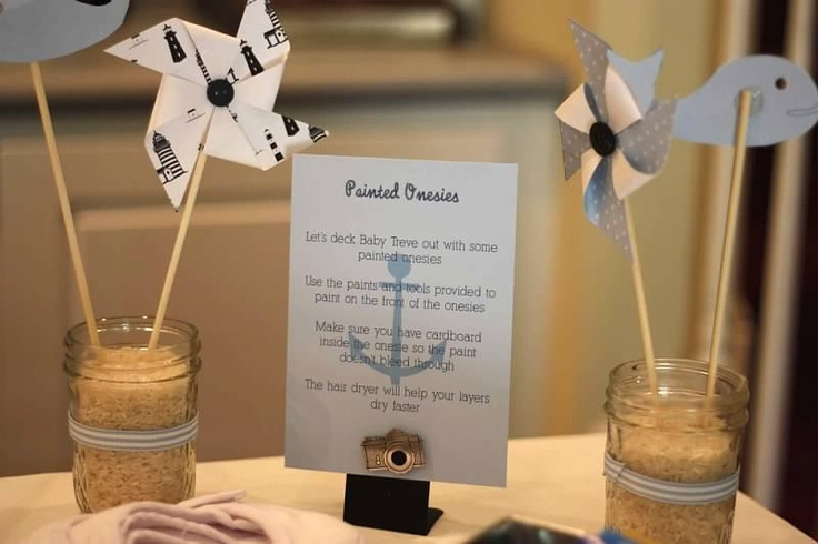 nautical baby shower decorations baby shower ideas pinterest