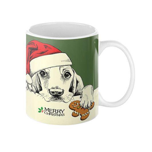 Coffee Mug - Christmas Dog Cookie
