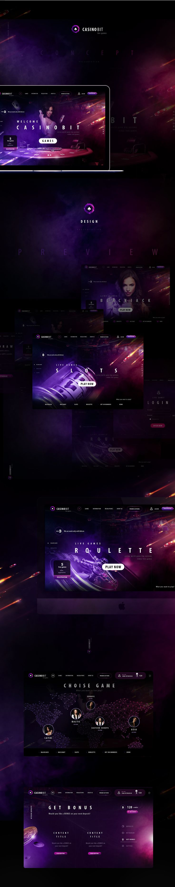 Online Casino Web-design