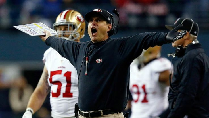 Harbaugh denies rumors, says he doesn't want to leave 49ers