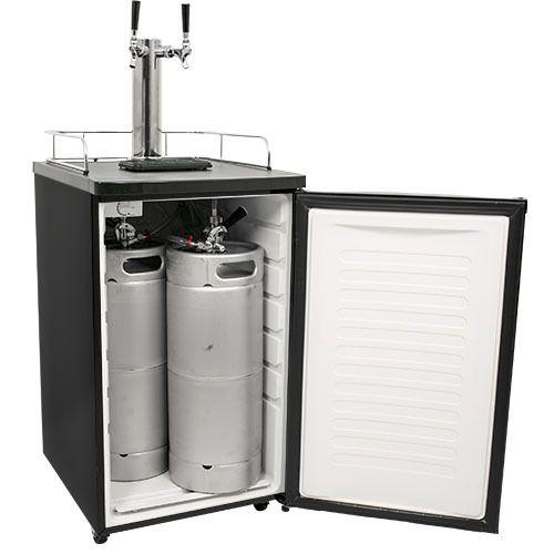 EdgeStar Ultra Low Temp Full Size Dual Tap Kegerator & Draft Beer Dispenser Secondary Image