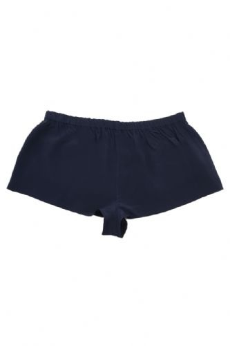 French knickers 100% blue silk