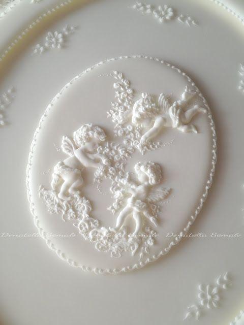 Donatella Semalo: angels piped in royal icing | Cake ... - photo#23