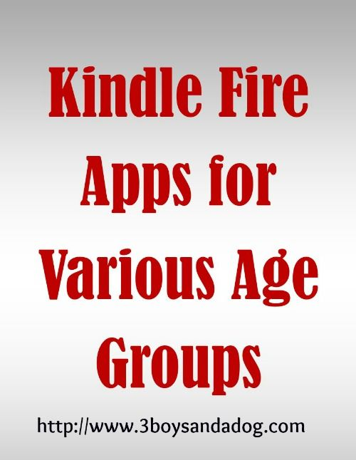 Check out the newest post (Kindle Fire Apps For Kids ) on 3 Boys And A Dog at http://3boysandadog.com/2013/09/kindle-fire-apps-for-kids/?Kindle+Fire+Apps+For+Kids+