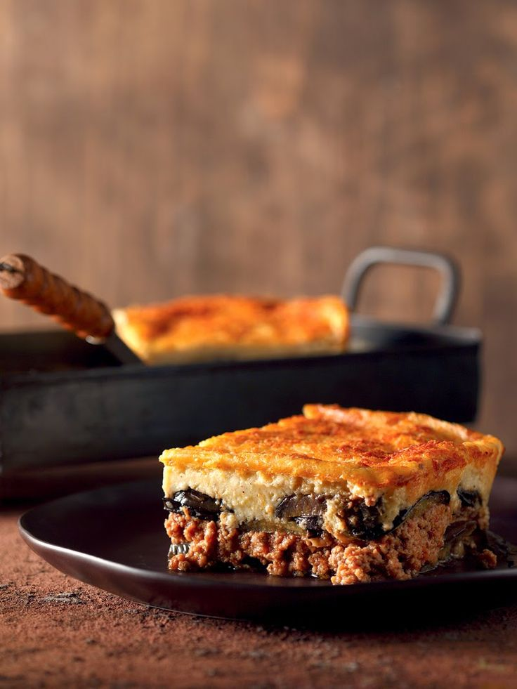 TRAVEL'IN GREECE   Moussakas with aubergines, #Greece, #travelingreece