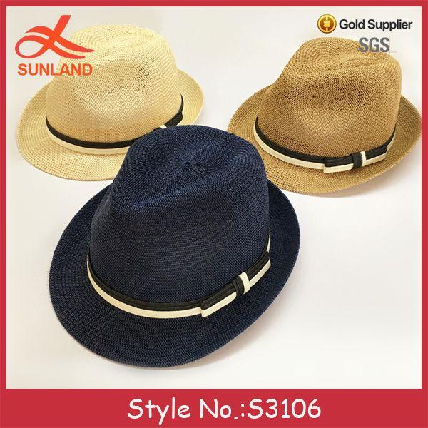 S3106 vente chaude unisexe d'été respirant jazz chapeaux de paille fedora pour hommes femmes-image-Chapeaux de Fedora-ID de produit:60649473638-french.alibaba.com