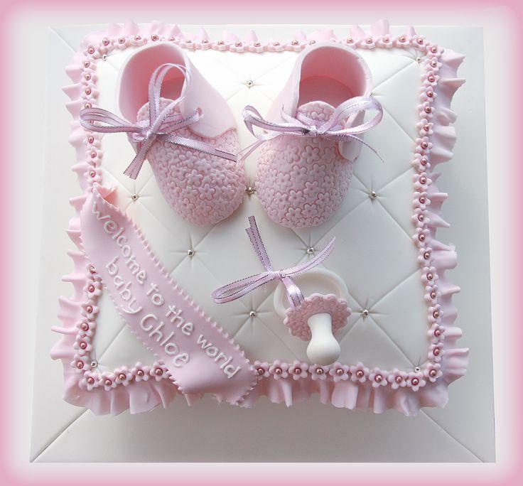 Baby Shower Pillow Cake
