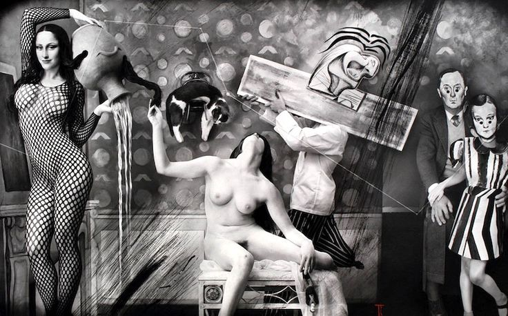 "ISPIRAZIONE: Joel-Peter Witkin ""Reality is an Invention, Balthus"" 2008"