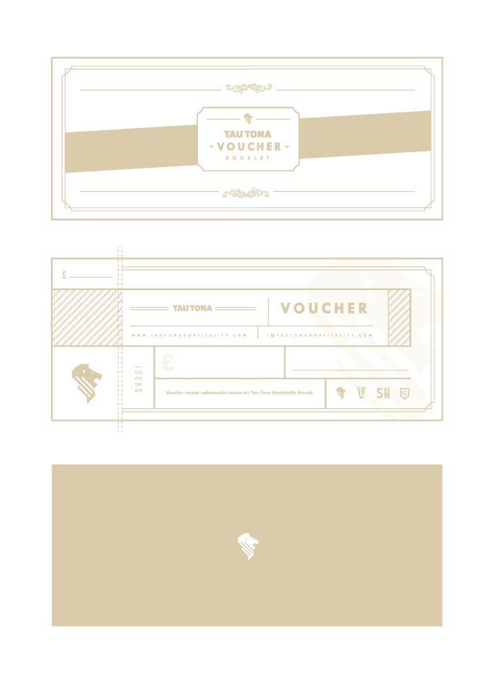 taurus hospitality voucher briefbox design pinterest gift