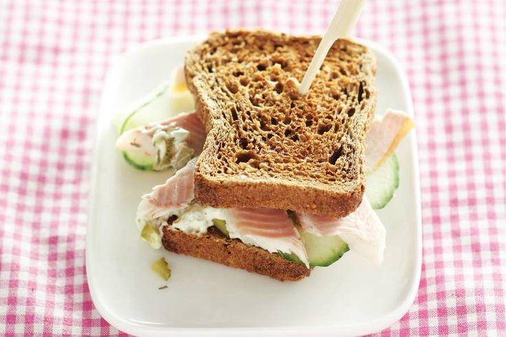 Kijk wat een lekker recept ik heb gevonden op Allerhande! Sandwich forel