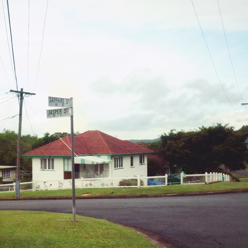Brisbane suburbia - jewel box area
