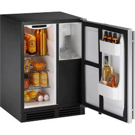 U Line Clrco2175 Mini Refrigerator With Ice Maker Ice