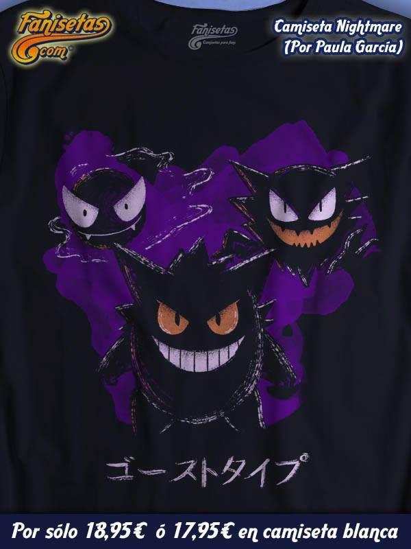 """""""Welcome To The Nightmare"""" Estos #Pokemon malvados van a ser tu peor pesadilla! #Camisetas #Videojuegos #Fanisetas http://www.fanisetas.com/camiseta-welcome-to-the-nightmare-p-5911.html"""