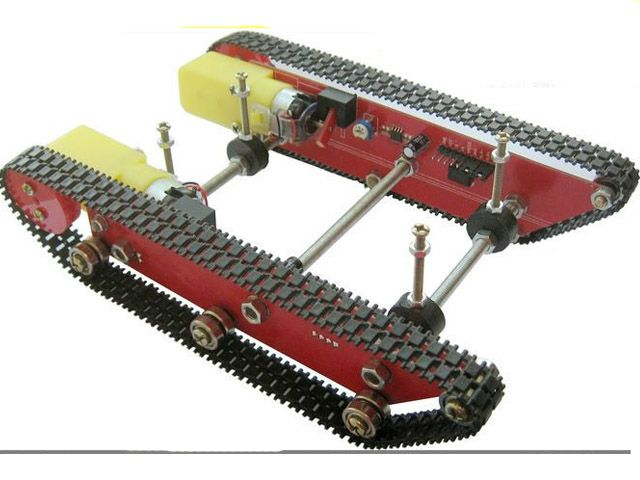 RC Arduino Tank Caterpillar Car Chassis Intelligent Robot Integrated