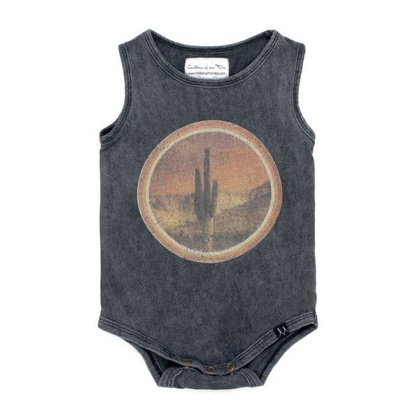 Eye of the Cacti Singlet Onesie