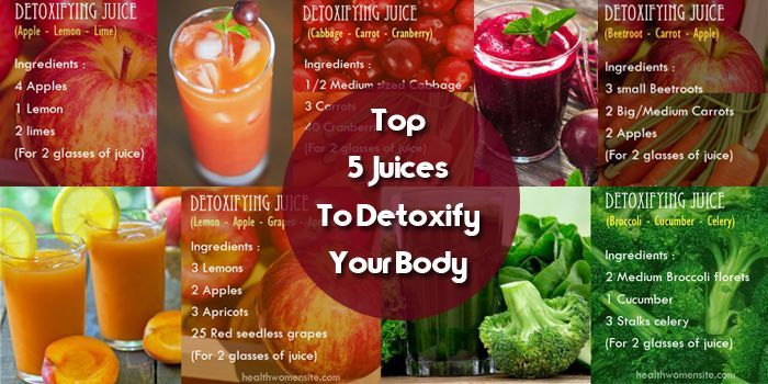 Top 5 Juices to Detoxify Your Body