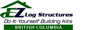 Do It Yourself Building Kits by EZ Log Structures - Gordon's Homes Sales - Modular Homes for Sale in Nanaimo and on Vancouver Island