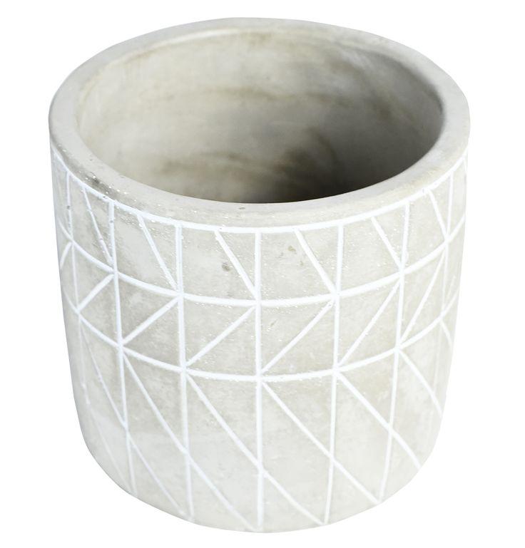Raze Concrete Planter - Matt Blatt