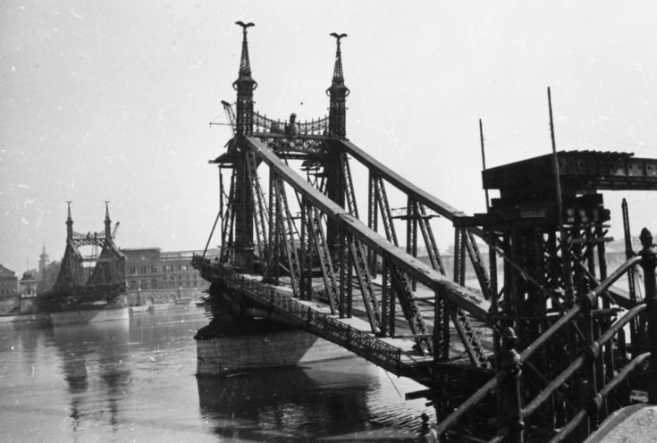 Budapest Hungary 1945