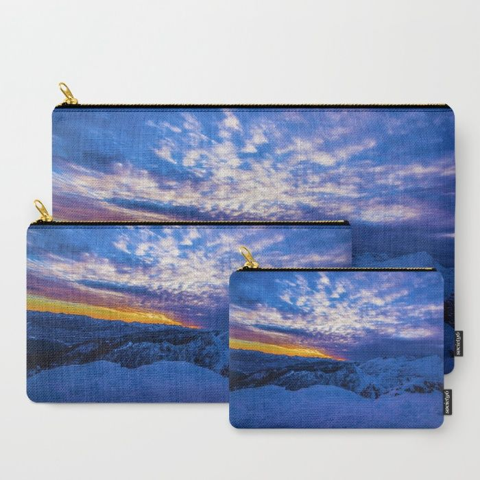 Warm Streak 2 Carry-All Pouch by Mixed Imagery | Society6