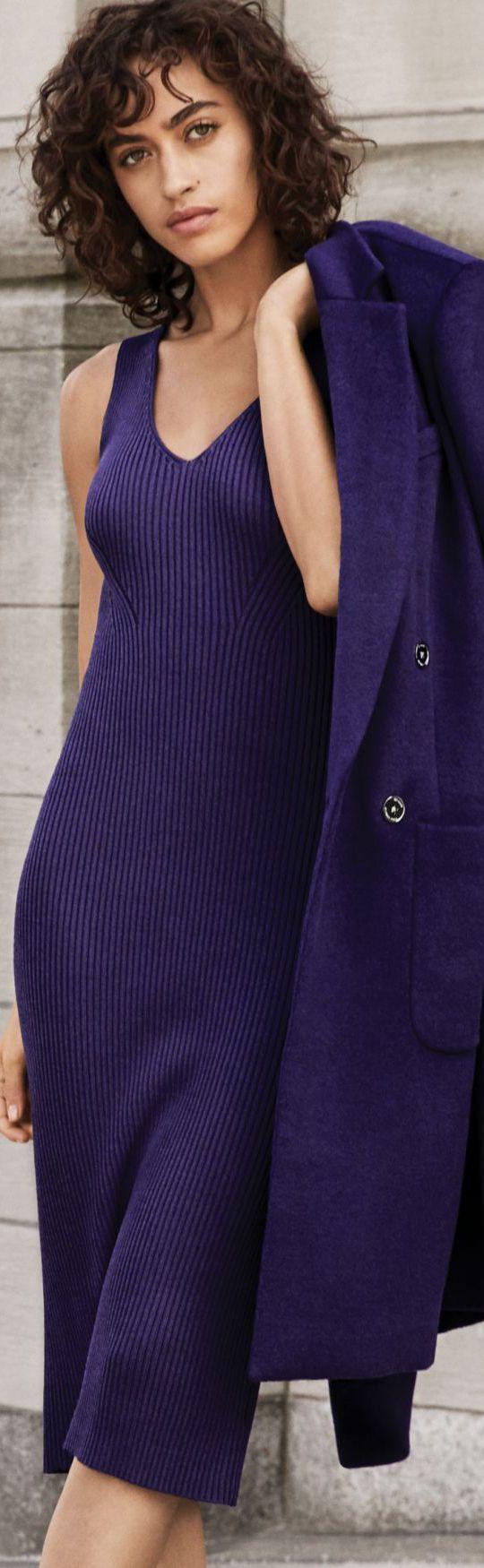 Michael Kors Wool Blend Dress & Coat