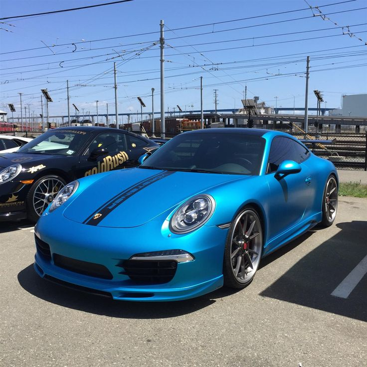 Blue Porsche 911 Carrera S 991 by goldRush Rally in San Diego-Carlsbad-San Marcos CA . Click to view more photos and mod info.