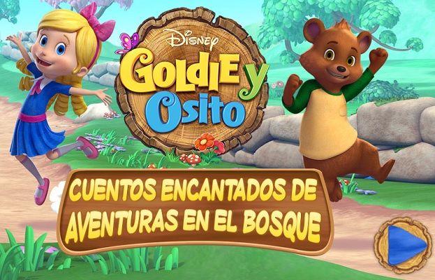 Goldie y Osito juegos Disney