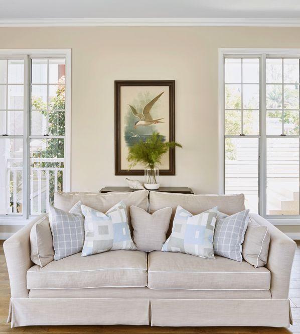 East Hampton Sofa by CocoRepublic - Beautiful!