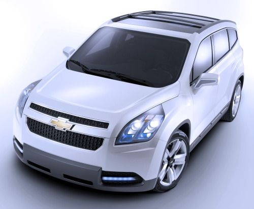 http://chicerman.com  carsthatnevermadeit:  Chevrolet Orlando Show Car 2008. A prototype for the production Orlando MPV  #cars
