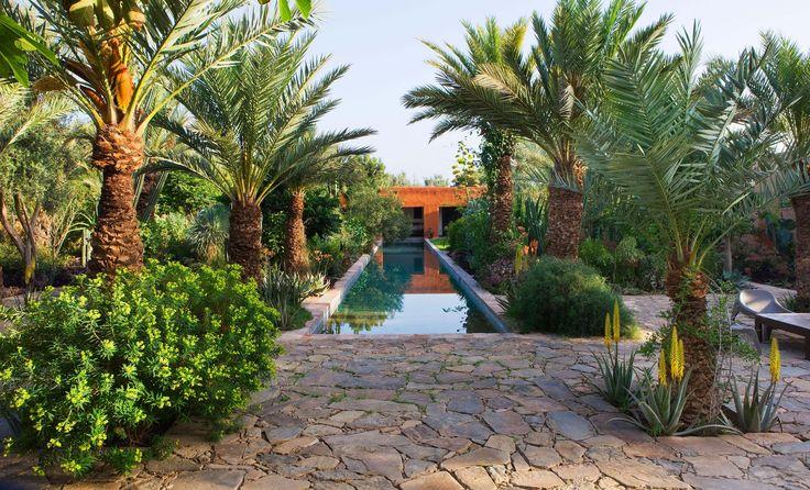 Arnaud mauri res et eric ossart jardin de l 39 h tel dar al for Restaurant jardin marrakech