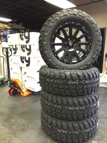 "Jeep Wrangler Rims And Tire Packages >> auto-parts-general: x4 33"" 12.5"" 20"" Mud tire And Custom ..."