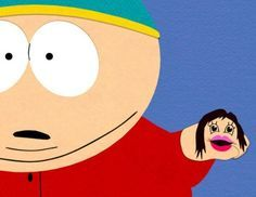 Cartman and Jennifer Lopez ( taco flavored kisses!)...one of my top ten fave southpark episodes