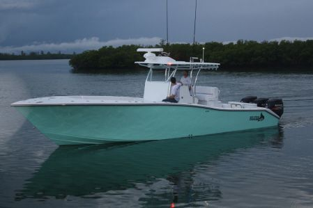 Billfish Boatworks 39 Center Console! Beautiful boat!