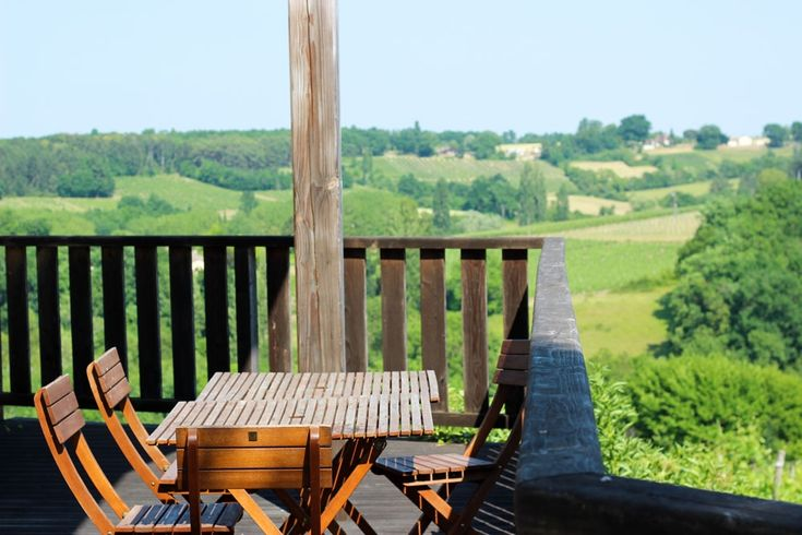 Wine Lodge at Chateau Feely, Dordogne, France. Relax in the Dordogne near Begerac http://www.organicholidays.com/at/3250.htm