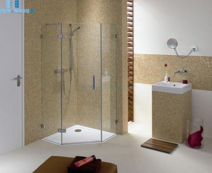 Yli tuhat ideaa: Dusche 90x90 Pinterestissä | Duschabtrennung glas ...