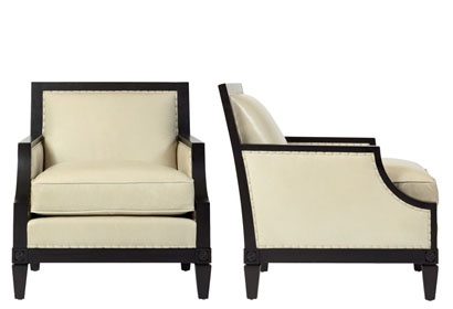"""Bernhardt Interiors """"Morris Chair"""" for that classic and contemporary luxury look."""