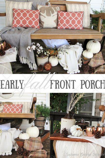 Savanna Interior Diy Mini Pond: Best 25+ Fall Front Porches Ideas On Pinterest