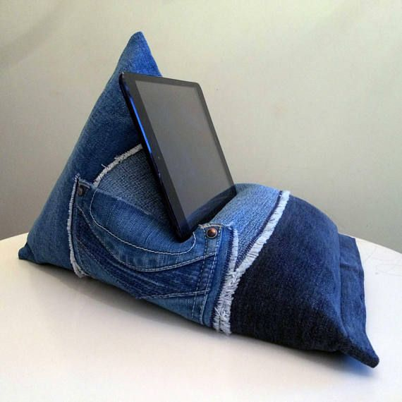 iPad Tablet Kindle Phone Book Holder Bean Bag Stand