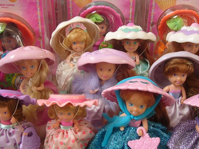 Cupcakes dolls by mercredipink, via Flickr