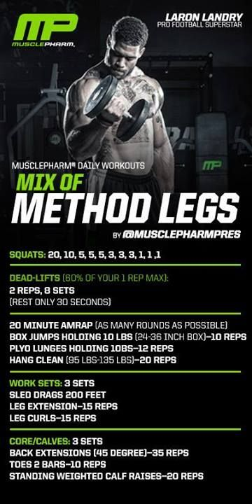 Muscle Pharm - Method Legs #legday #workout http://transformation-without-effort.tumblr.com/new-method/