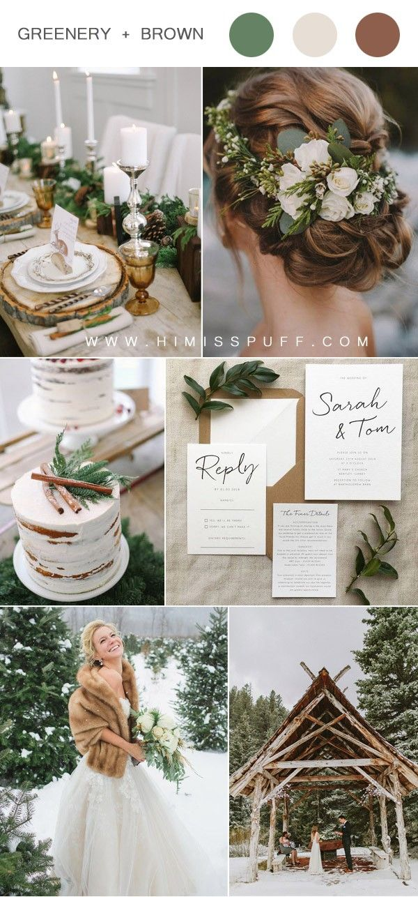 Top 13 Winter Wedding Color Ideas For 2020 With Images Wedding