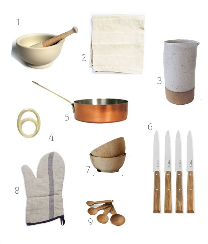 GIFT GUIDE 2014 / for the cook #giftguide2014 #meaningfulgifts #supportsmallbusiness #giftguide #cook #kitchen