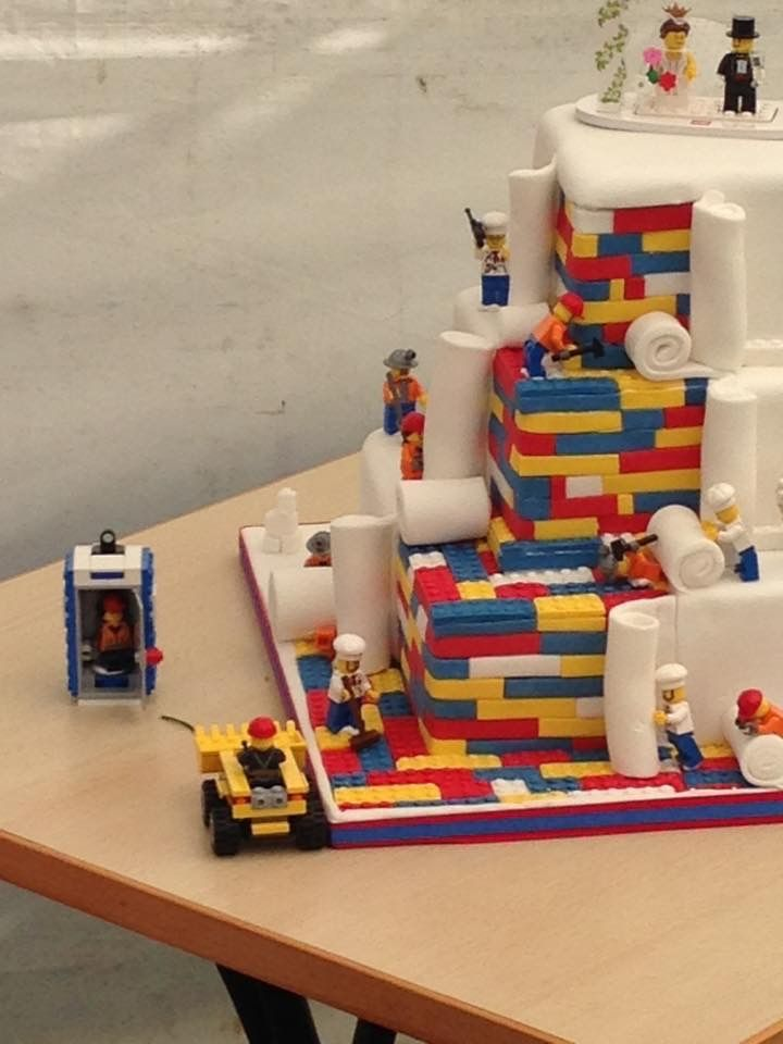 My Lego themed wedding cake, it was awesome :)